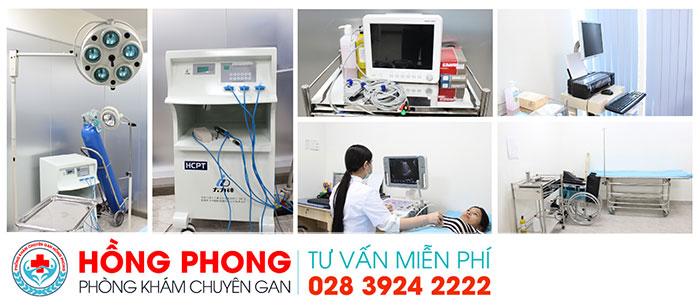 Trang thiết bị y tế hiện đại tại PKĐK Hồng Phong