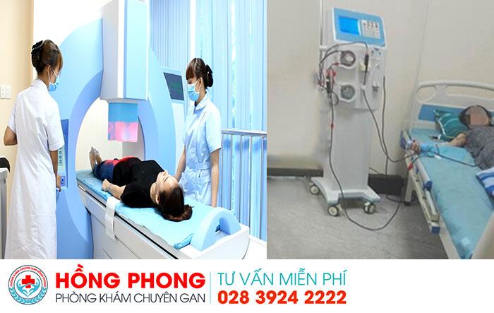 Các phương pháp điều trị bệnh gan hiện đại tại PKĐK Hồng Phong