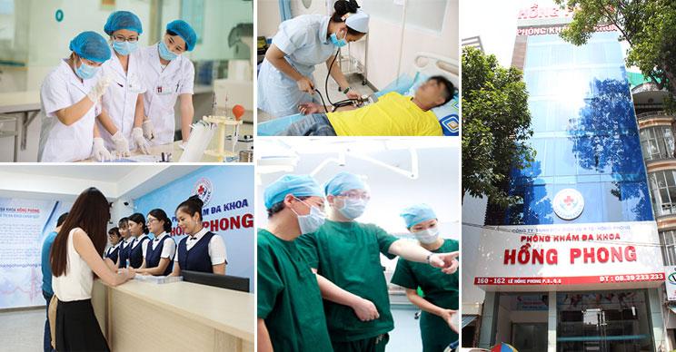 PKĐK Hồng Phong cơ sở y tế uy tín tại HCM