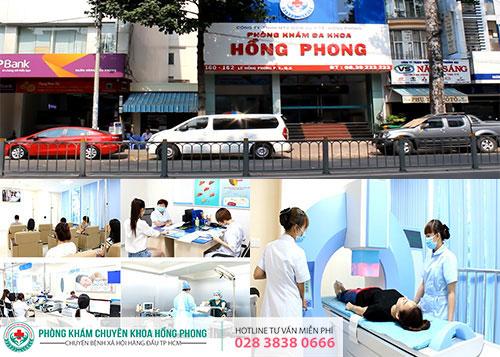 PKĐK Hồng Phong - Trung tâm khám và hỗ trợ điều trị BXH uy tín tại HCM