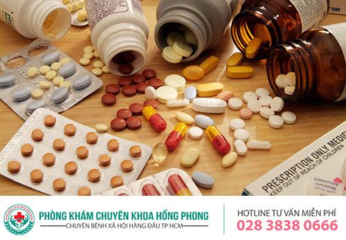 Hỗ trợ điều trị bệnh lậu bằng thuốc