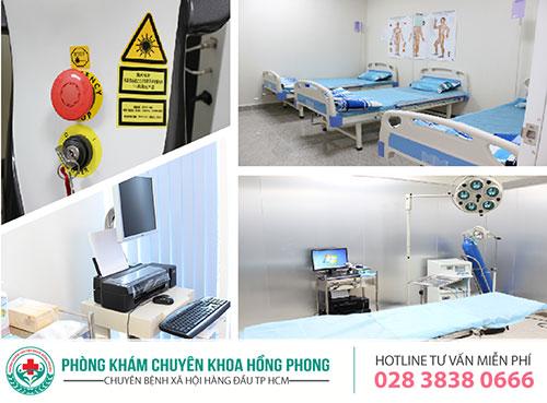 Điều trị bệnh lậu tại phòng khám đa khoa Hồng Phong