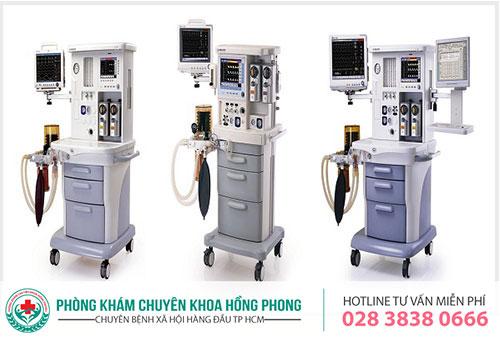 Thiết bị hiện đại sử dụng trong hỗ trợ điều trị HPV tại PKĐK Hồng Phong