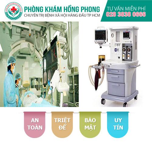 Trang thiết bị hiện đại phục vụ khám chữa bệnh xã hội tại đa khoa Hồng Phong