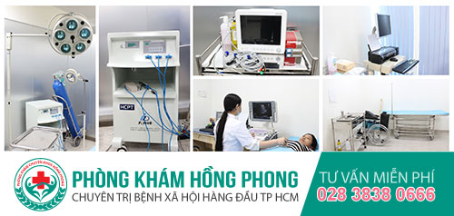 Trang thiết bị, phòng ốc khang trang tại PKĐK Hồng Phong