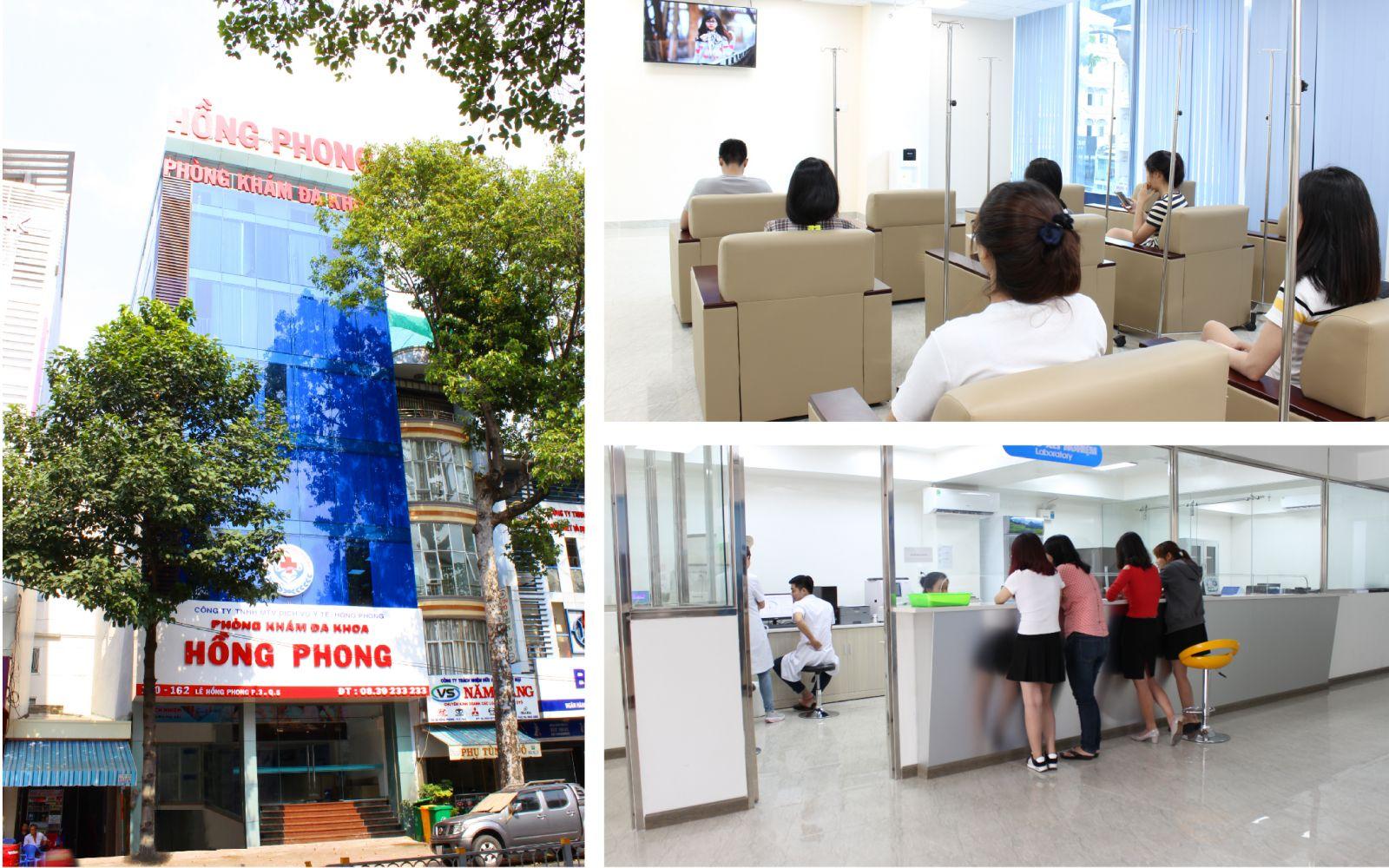 PKĐK Hồng Phong là phòng khám được Sở Y tế TP. HCM cấp phép hoạt động