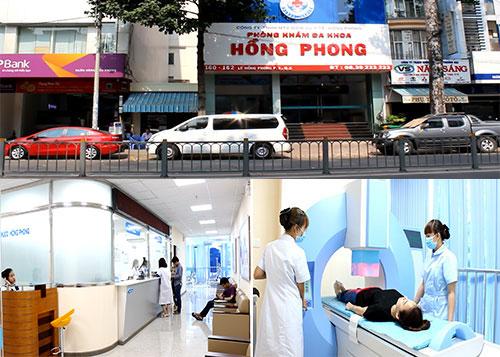 Cơ sở vật chất, trang thiết bị hiện đại tại PKĐK Hồng Phong
