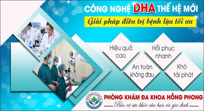 Phương pháp DHA mang lại hiệu quả cao trong điều trị bệnh lậu
