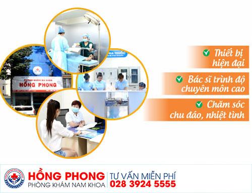 PKĐK Hồng Phong nơi người bệnh có thể gửi trọn niềm tin