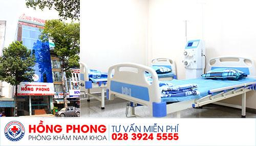 Đa khoa Hồng Phong - Địa chỉ uy tín cho nam giới mắc bệnh yếu sinh lý