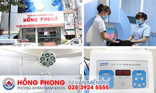Môi trường phòng khám Đa khoa Hồng Phong.