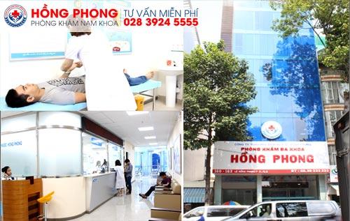 Điều trị sưng vùng bìu tinh hoàn hiệu quả tại phòng khám Đa khoa Hồng Phong