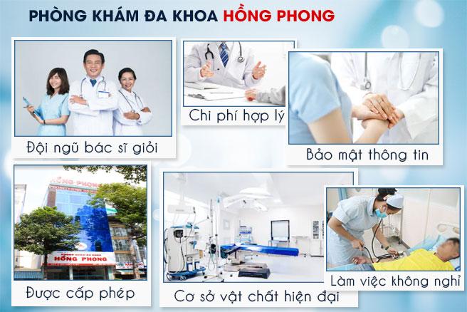 PKĐK Hồng Phong địa chỉ chữa xuất tinh hiệu quả tại HCM