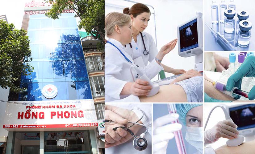 PKĐK Hồng Phong - Địa chỉ điều trị bệnh nam khoa uy tín tại HCM