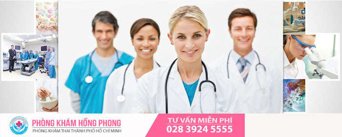 Đội ngũ y bác sĩ giỏi, tận tâm luôn là ưu thế của phòng khám phá thai Hồng Phong