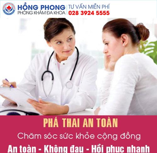 Phá thai 1 tuần tuổi an toàn tại PKĐK Hồng Phong