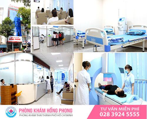 PKĐK Hồng Phong địa chỉ phá thai an toàn ở HCM