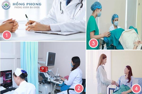 Siêu âm, kiểm tra thai tại PKĐK Hồng Phong
