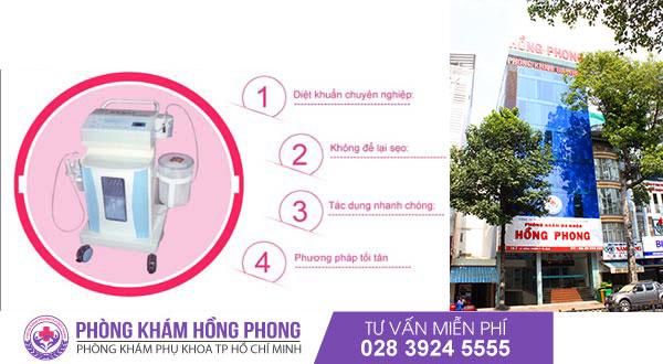 Điều trị viêm âm đạo bằng phương pháp Oxygen tại PKĐK Hồng Phong