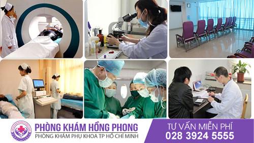 Phòng Khám Đa Khoa Hồng Phong địa chỉ khám bệnh phụ khoa tốt nhất hiện nay